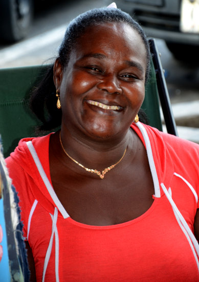 zuiderdam cruise willemstad curacao portrait woman