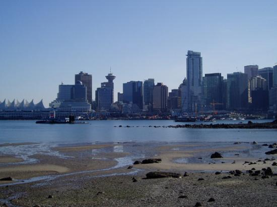 Vancouver as viewed from Stanley Park