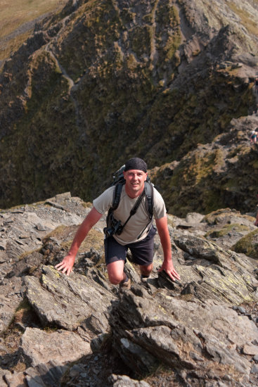 COLIN ON SHARP EDGE