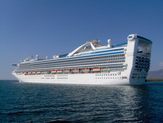 ship cruise liner grand princess