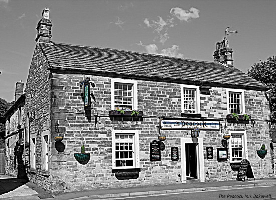The Peacock Inn Bakewell Derbyshire Peak District HDR 2011rob