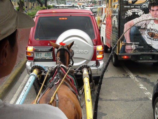 Manila Philippines traffic