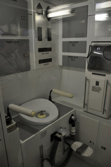Astronaut Bathroom in Space - Pics about space