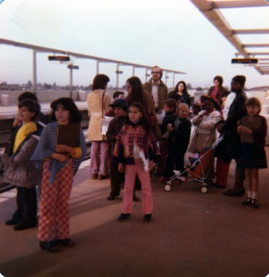 memorytuesday me school fieldtrip bart train