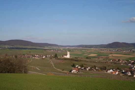 Switzerland Countryside Klettgau Landscape Church valley Schaffhausen sunshine