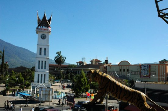 jam gadang bukittinggi west sumatera indonesia