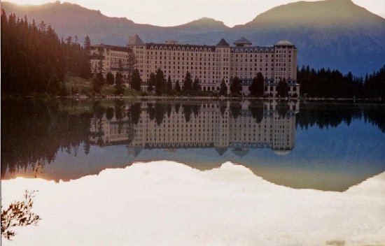 reflection rockies canada hotel