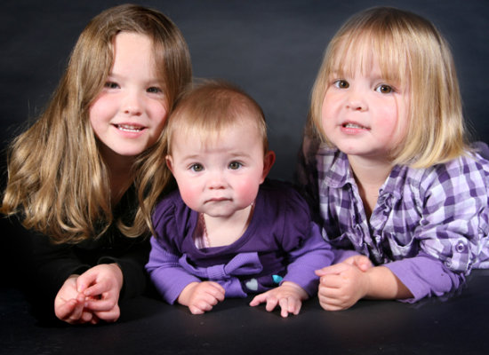 My 3 beautiful girls - Amelija, Rylee and Georgia