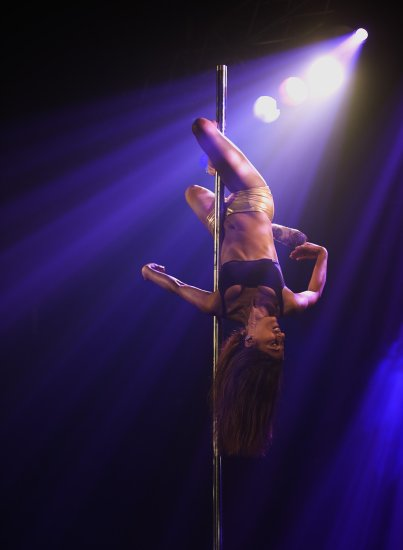 from today, the pole dancer,