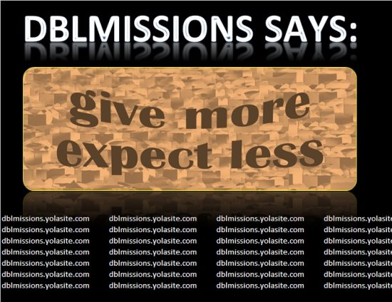 dblmissions project hope a note for you give receive cefas zanie gertjie nikkita