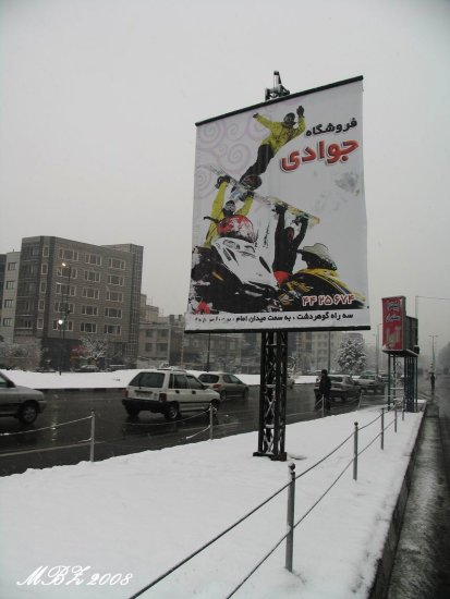 iran winter