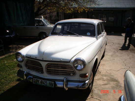 1967 Volvo 122S Wagon due for restoration in 2008