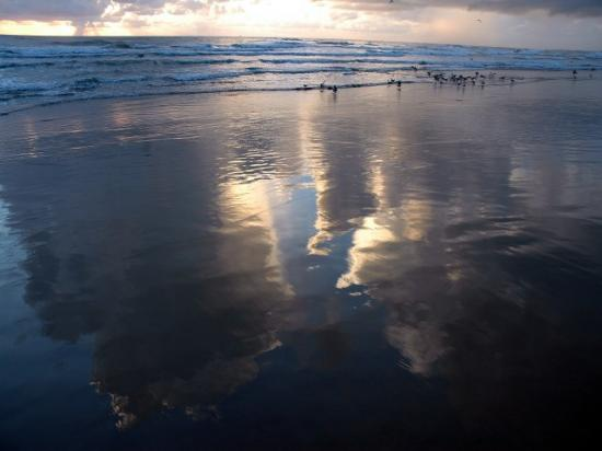 Cloud Reflections: Dawn South Padre Island, Texas