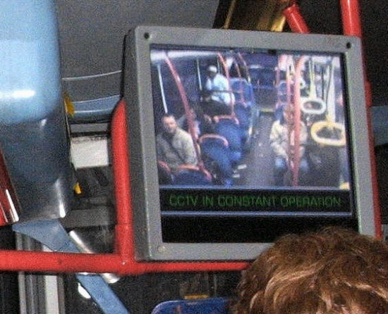 Big Brother is on the bus.