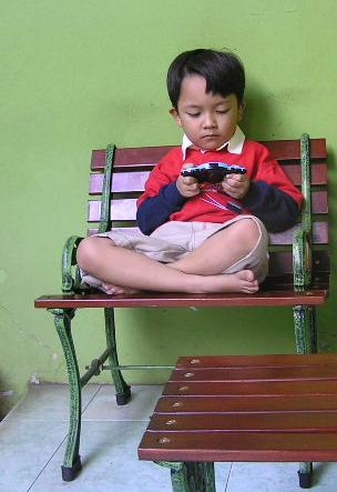 Don't disturb me, please! Zhilal, my son.