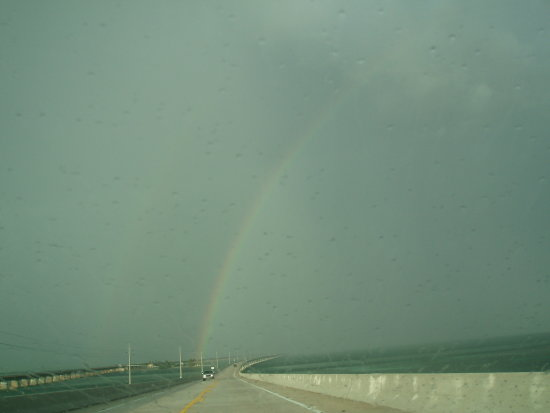 rainbow... on florida keys, 06.25.07