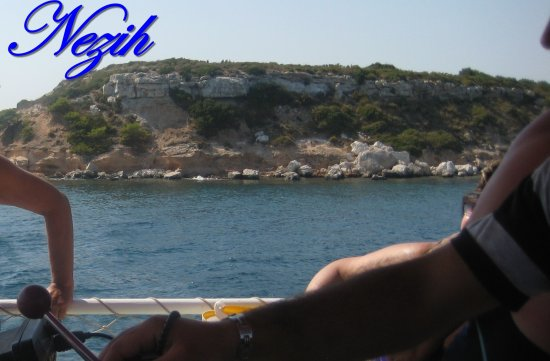 nezihmuin travel turkiye didim sea ship lanscape