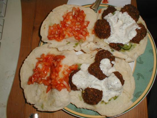 Nothing beats a tasty falafel. (2004)