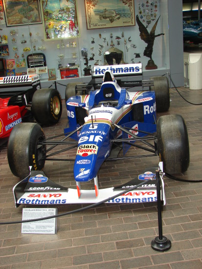 Williams Renault national motor museum beaulieu hampshire car exhibition