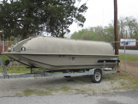 duck hunter's boat