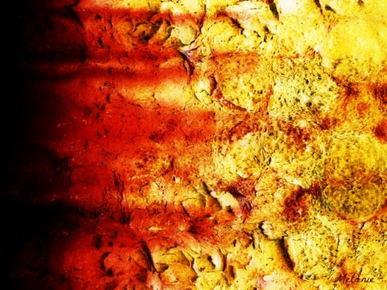 abstract surface fire mellie