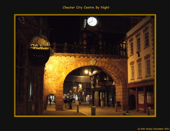 chester City Centre England UK November 2011 Rob Hickey