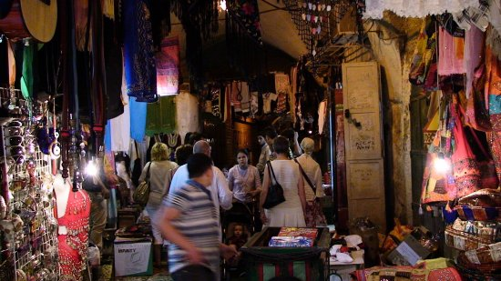 inside the shuk