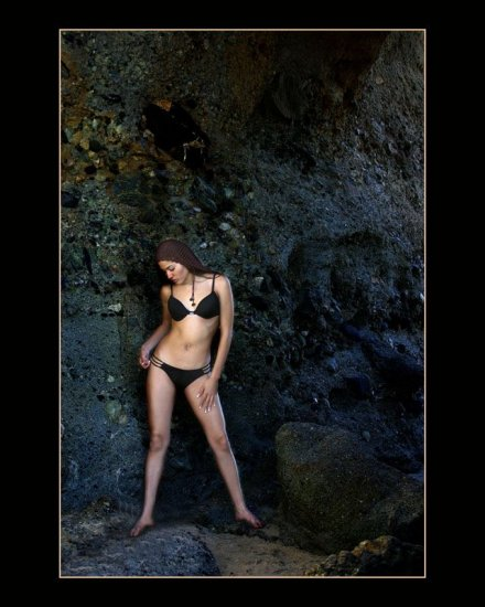 Here is a photo that was edited beause it was in a contest.  By the way the photo won the award a...