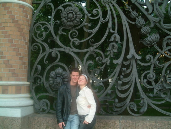 ahh I love this photo so much...we both look so happy!!:) мой до&#...
