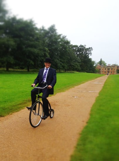 Mr Phoebus Hire Penny Farthing worcester penny farthing