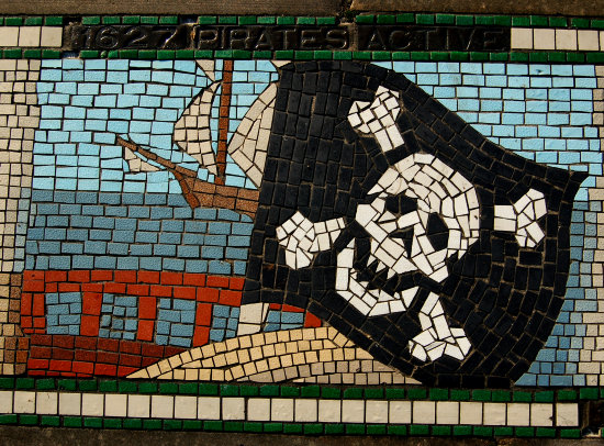 barnstaple mosaic history pirates
