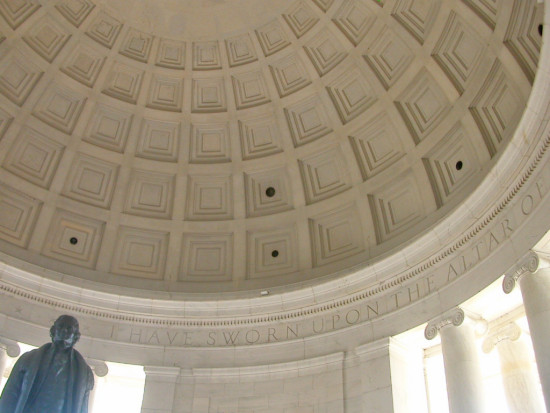 washingtondc dcmonumentfph dc monument jefferson memorial dome