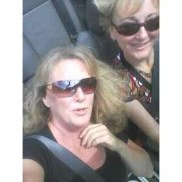 Debbie took me for a ride in her new convertible at lunch.  We were blasting the music and singin...
