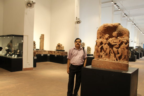 Me with an Indian Art of  2nd AD