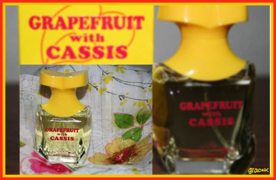 one of my collections grapefruit with cassis samorai woman alain delon