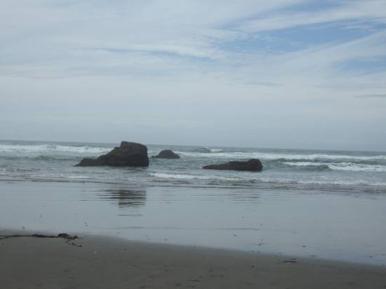 Seaside beach north of Fort Bragg