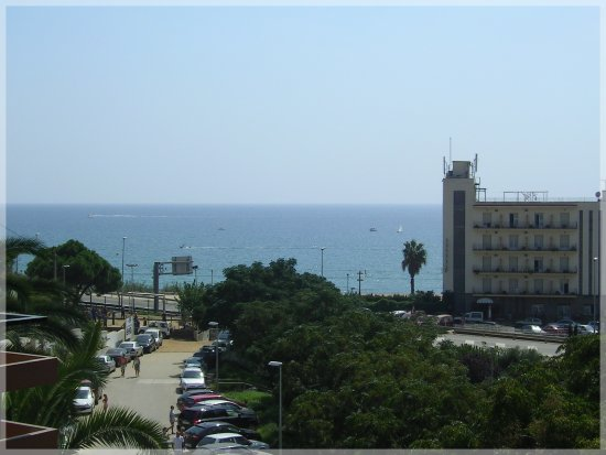 Canet de Mar,view from my balcony