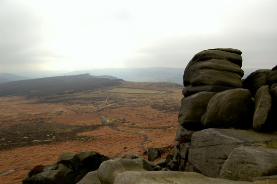 peak district higger tor carl wark