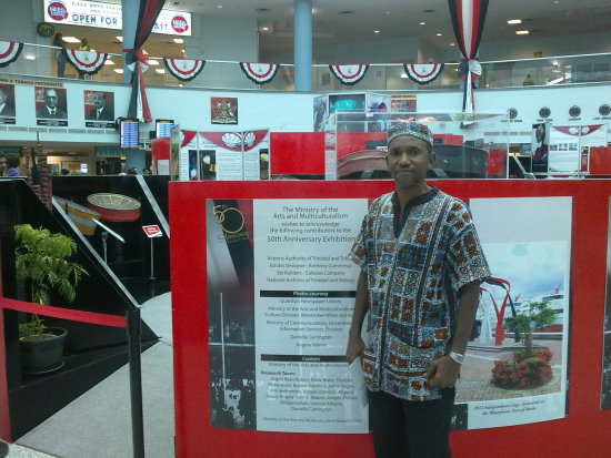 EVOLUTION STEELPAN PIARCO AIRPORT 50TH ANNIVERSARY EXHIBITION
