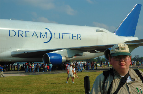 stlouis missouri us usa SAFB sports DreamLifter CJH BH 092108 2008