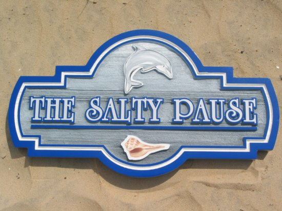 sign house Pause Salty The