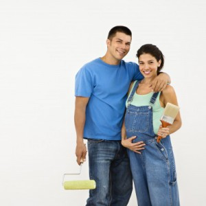 Painting Tips for a baby nursery