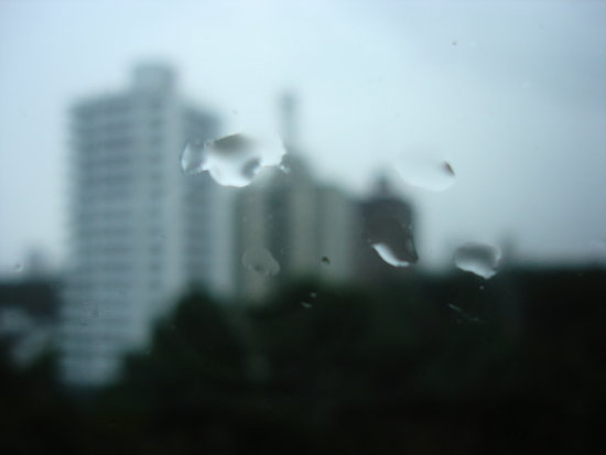 window rain drop