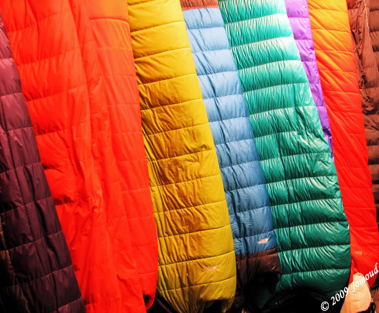 colour sleepingbags
