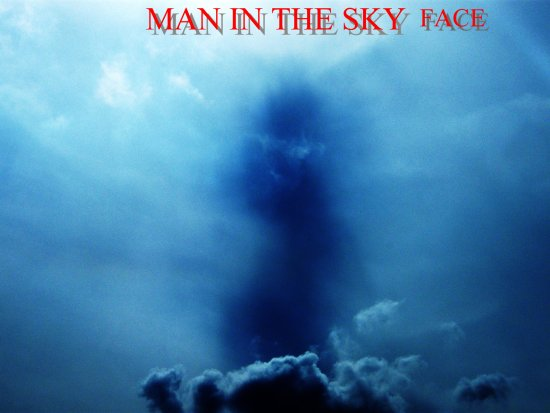 Man in the sky