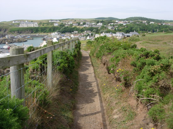 Looking toward Portpatrick..... I will be adding a link soon to a youtube video i will upload soon.