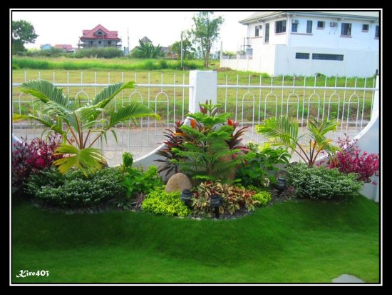 ... Garden Design With Landscape Pictures Front House Philippines PDF With  Moses In The Cradle Plant From
