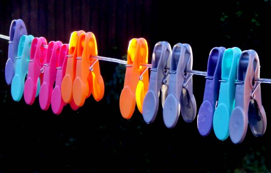 colour color pegs washing line bridgesfriday
