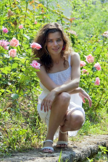 woman girl portrait nature outdoor pleven bulgaria roses