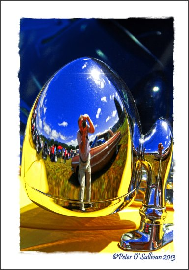 reflectionthursday Chrome Car Vintage Mossyrock Washington USA
